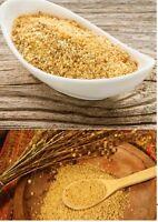 Flaxseed Powder in Bulk 4-6-10kg Dark Gold Fine Cold Milled Linseed Gluten Free