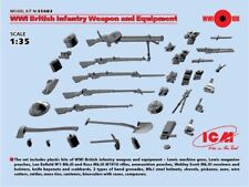 ICM 1/35 WWI British Infantry Weapons & Equipment # 35683