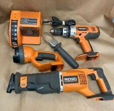 Rigid Tools Combo Set R8541-R851150-R849-Chargi ng Dock- No Batteries