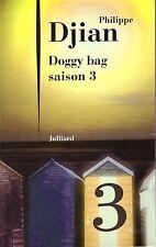 PHILIPPE DJIAN Doggy bag saison 3 + PARIS POSTER GUIDE