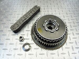 2005 00-09 Buell Blast 500 OEM Clutch Basket Chain Primary Gear Plates