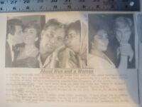 Vintage Wire Press Photo Elizabeth Taylor All Seven Marriages 8/17/1981