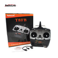 Radiolink T8FB 2.4G 8CH RC Transmitter w/ R8EF Receiver for RC Drone Helicopters