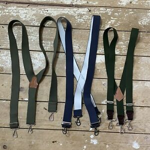 3 Pairs Military Braces Suspenders
