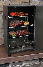 ELECTRIC SMOKER Portable Outdoor Barbecue Grill Digital Meal Cooker Rack BBQ