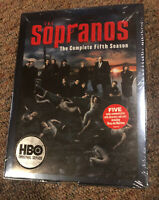 The Sopranos: Season 5 DVD HBO - Brand New
