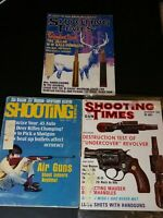 Shooting Times November 1968 May 1971 February 1970 Magazines. air guns 357 revo