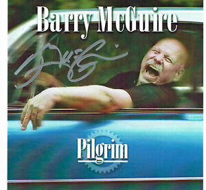 BARRY MCGUIRE'S STORE - PILGRIM CD NEW - AUTOGRAPH FROM BARRY MCGUIRE - 13 SONGS