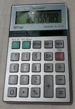Vintage Sharp 10 Digit Elsi Mate El-377M Handheld Calculator Battery & Solar