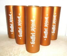 6 Gaffel Kolsch Cologne Koln Coppertone White-label German Beer Glasses NEW