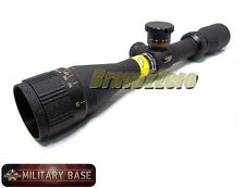 Sweet 17 .17 cal 3-12x40 Duplex Crosshair AO Rifle Scope 17HMR / 17GR