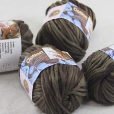 AIP Sale 4 Balls x50gr Super Soft Pure Cotton Chunky Shawl Hand Knitting Yarn 42