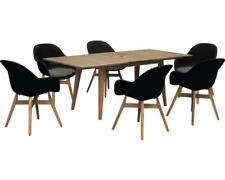 Gartenmöbelset Garden Place Style 6-Sitzer inkl. ausziehbarem Holztisch