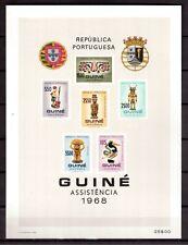 PORTUGAL 1968 MINT NH S/S # RA17/23 GUINE ASSISTENCIA !!