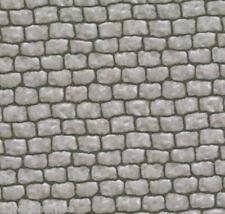 1/2 Yard Landscape Bricks Grey Fabric Quilt 100% Cotton Moda 15638 15