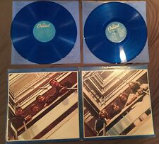 "The Beatles 1967-1970 Blue Album 2 Records LP 33 RPM 1973 APPLE Rock 12"" Good"