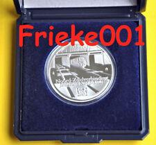 België - Belgique - 10 euro 2002 proof in capsule.(Noord Zuid verbinding)