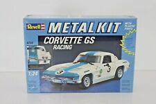 1988 Revell Metal Kit 1:24 Corvette GS Racing 8706 sealed 1/24 as Burago scale