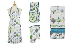 Cooksmart Forest Birds, Oven Glove, Tea Towels Or Apron