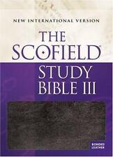 Scofield III Study Bible-NIV (Leather / Fine Binding)