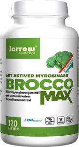 Jarrow BroccoMax, Brokkolisamenextrakt, 120 Kapseln (80,92€ pro 100 g)