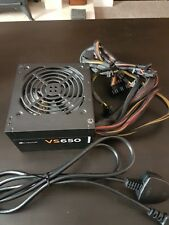 Corsair VS650 Power Supply 650W PSU 2x PCI-E SLI-Crossfire 80 Plus Efficiency