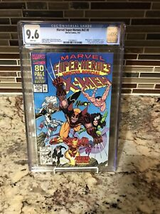 Marvel Super-Heroes 8 Winter Special CGC 9.6 White 1st Squirrel Girl