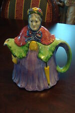 Little Old Lady 1930s TeaPot Made in England [*1]