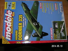 Modele Magazine RCM n°727 Plan encarté Vertigo / Dornier 335 Easystar II Primo