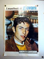 I MANIFESTI DI GIOVANI - Poster Vintage - ANDREA GIORDANA - 73x50 Cm [45]