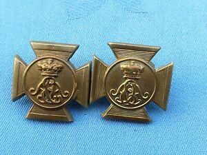 WW1.The Wiltshire Regiment collar badges.