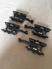 4 Brand New Bachmann G Scale Electrified Trucks With Knuckles & Metal Wheels