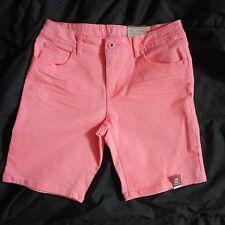 Girls sz 16 Arizona bermuda shorts ADJUSTABLE WAIST pink coral