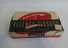 RARE 1930S KLEENEX TISSUES FLARE RED HUNTERS PACK GREAT DISPLAY