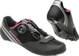 Louis Garneau women's cycling shoes LS-100 II Carbon soleUS 9.5 EU 40.5 black LG
