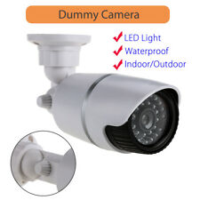 Dummy Video Camera Home Security Flashing LED Light CCTV CCD Quality Additional