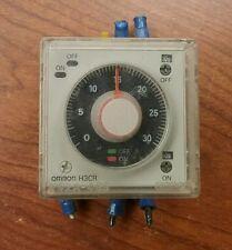 OMRON H3CR POWER-OFF DELAY TIMER 240V, 50/60 HZ, 2736 OM