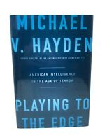 Michael V. Hayden Signed Book Playing To The Edge - Former US CIA NSA Director