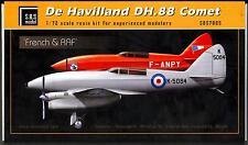SBS Models 1/72 DE HAVILLAND DH.88 COMET R.A.F. and French Air Force
