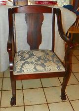 Mahogany Empire Armchair / Parlor Chair  (AC175)