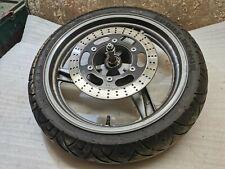 Cerchio ruota anteriore wheel rim front Kawasaki ER-5 500 1996 2006 GOMMA PERFET