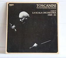 Toscanini The man behind the Legend LA SCALA ORCHESTRA 1920 21 album LP vinile