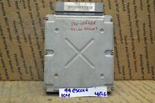 1999 2000 Ford Escort 2.0L Engine Control Unit ECU XS4A12A650DC Module 104-4G6