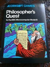 Acornsoft Philosopher's Quest 1980s BBC Micro Game *SEE DEALS*