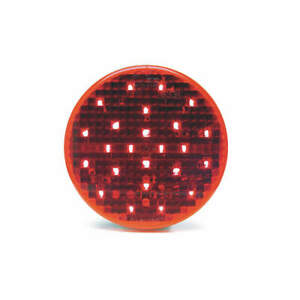 GROTE G4002 Stop/Turn/Tail Light,Round,Red