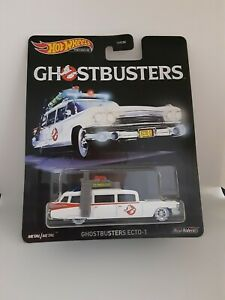 HOT WHEELS Ghostbusters Ecto-1 Collector Real Riders PREMIUM