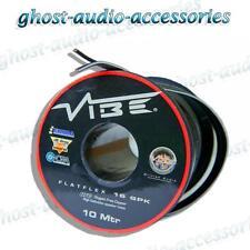 10m Vibe flatflex 16awg Ofc De Audio De Coche Cable De Altavoz Cable De Alta Fidelidad