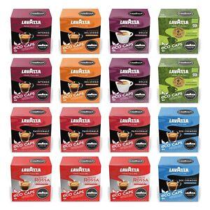 Lavazza A Modo Mio Eco Compostable Caps - 16 Pods/Box - UK - Long Best Before!