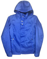Burton DRYRIDE Womens Small Jet Set Snowboard / Ski Jacket Coat Hooded Blue EUC