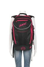 ZOOT Black Pink Triathlon Transition Bag 2.0 Athletic Runners Cyclists Backpack